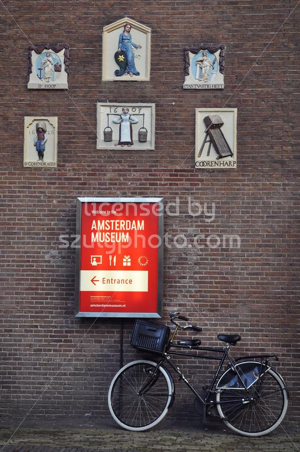 Amsterdam Museum Wall - Adam Szuly Photography
