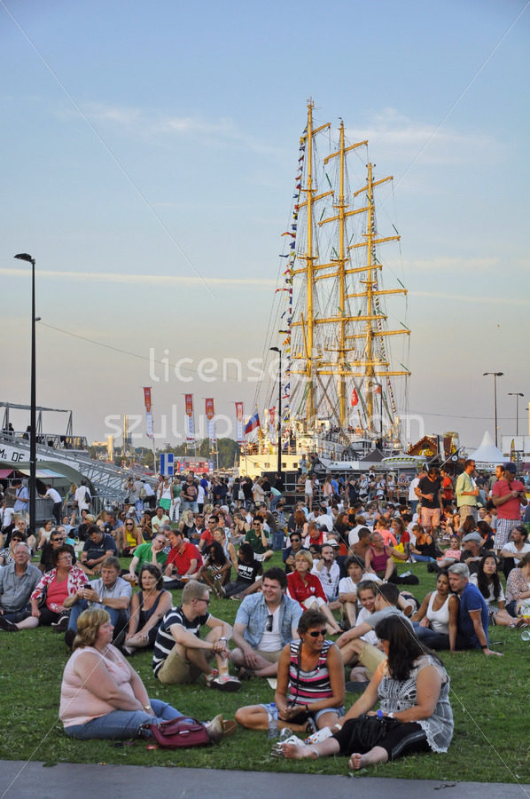 Chilling visitors at the Sail Amsterdam event - Adam Szuly Photography