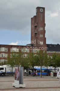 Mercatorplein Clock tower by Berlage - Adam Szuly Photography