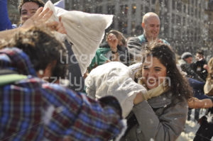 Pillow fight day in Amsterdam - Adam Szuly Photography