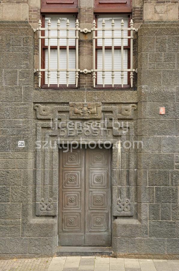 Safe Deposit Entrance of the City Archives - Adam Szuly Photography