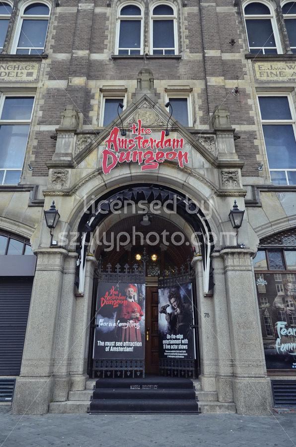 The Amsterdam Dungeon on the Rokin - Adam Szuly Photography