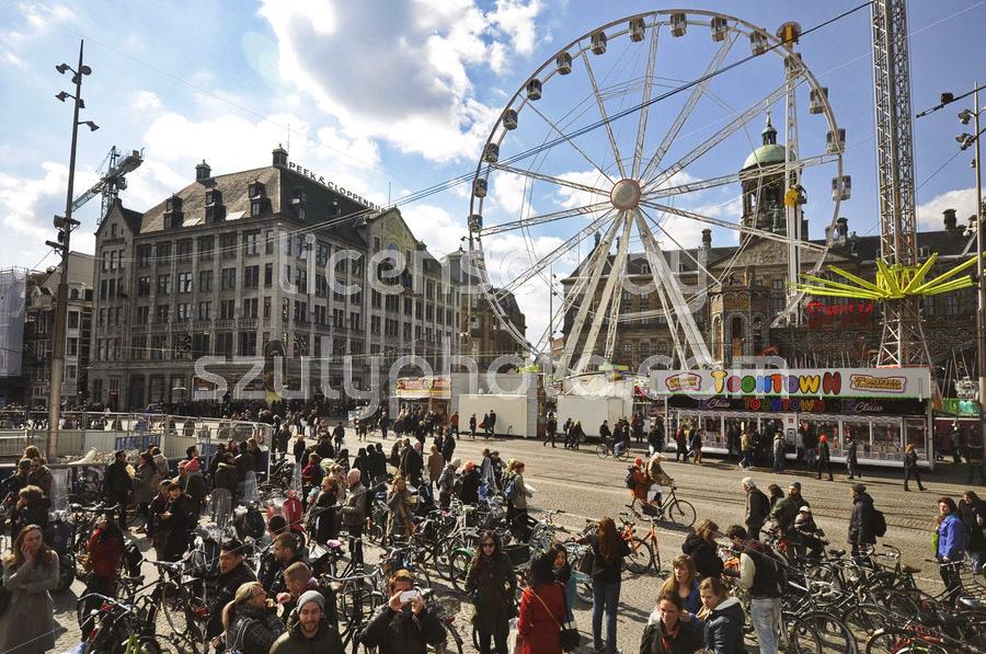 The Amsterdam Eye on the Dam Square - Adam Szuly Photography