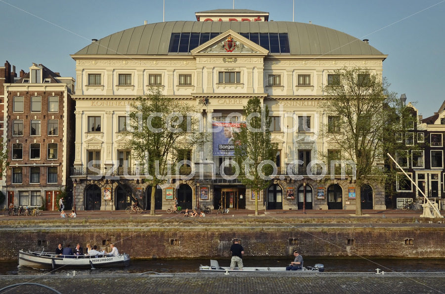 The Carre Theater from the Amstel - Adam Szuly Photography