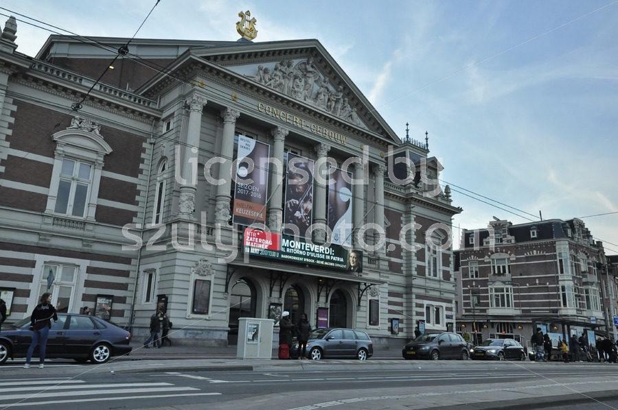The Concert Hall from the Van Baerlestraat - Adam Szuly Photography