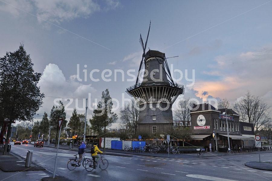 The De Gooyer Windmill - Adam Szuly Photography