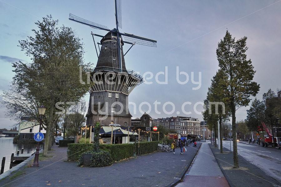 The De Gooyer Windmill and the Langedijk Bar - Adam Szuly Photography