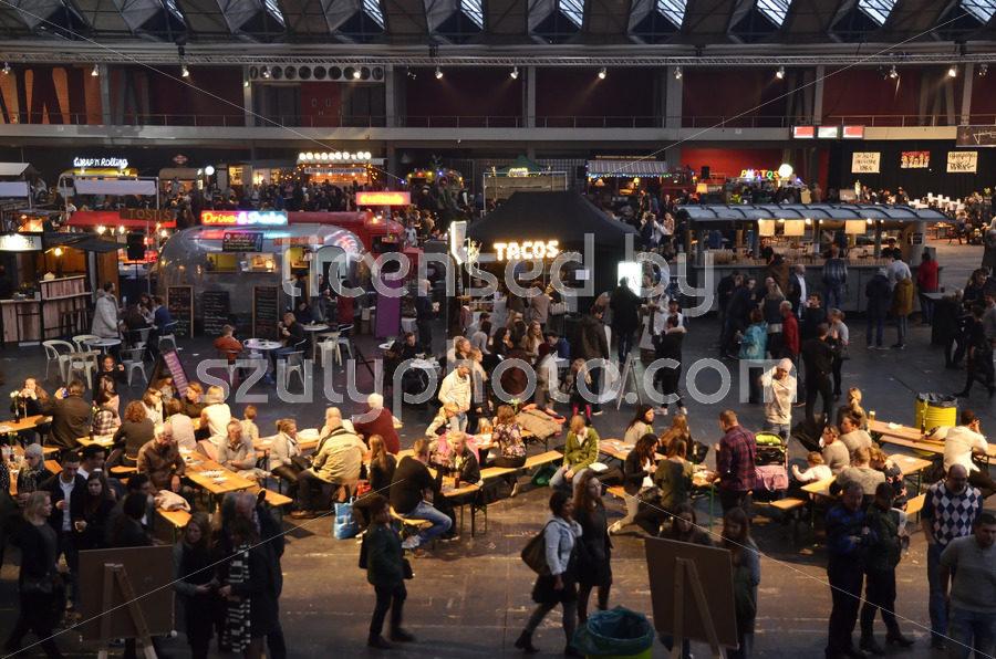 The Foodfestival from the South mezzanine - Adam Szuly Photography