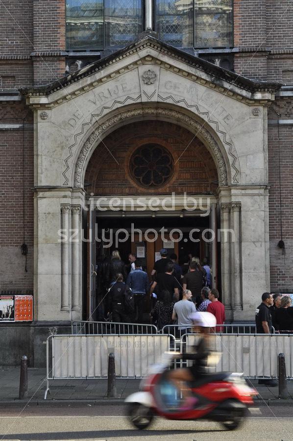 The entrance of the Paradiso Music Hall - Adam Szuly Photography