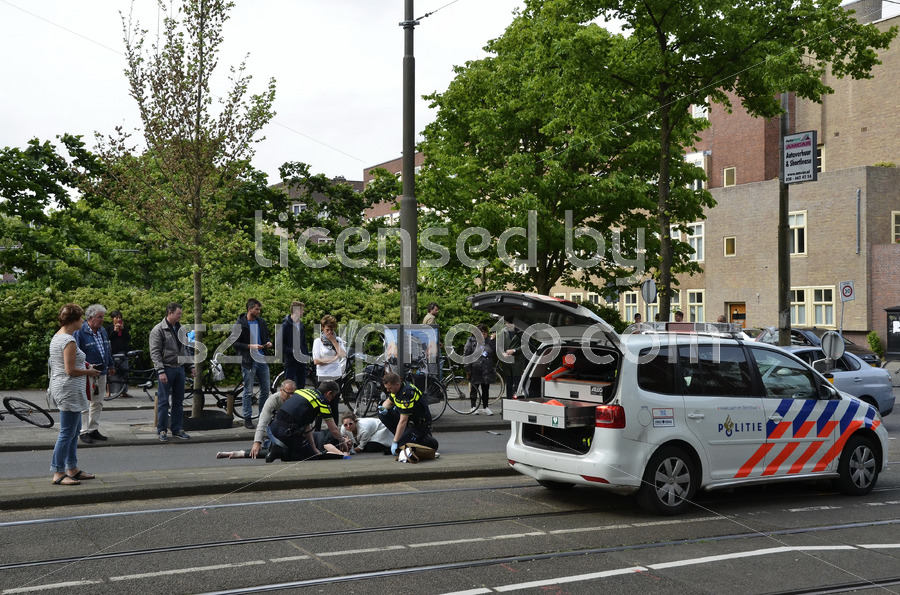 Accident on the Beethovenstraat - Adam Szuly Photography