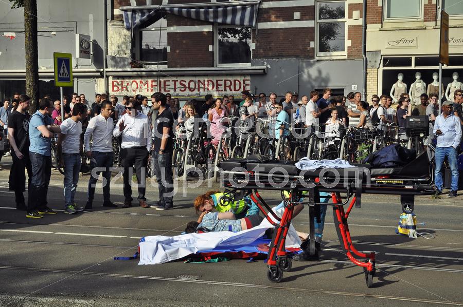 Accident on the Bilderdijkstraat - Adam Szuly Photography
