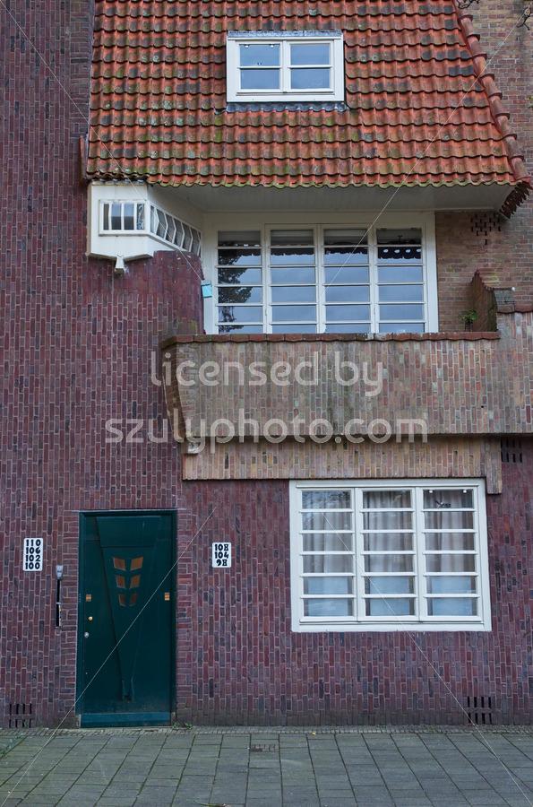 Amsterdam School facade - Adam Szuly Photography