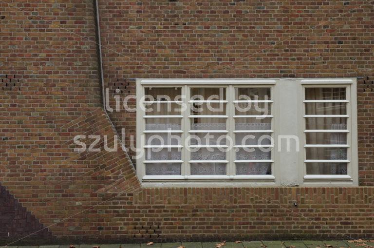 Amsterdam School ground floor windows - Adam Szuly Photography
