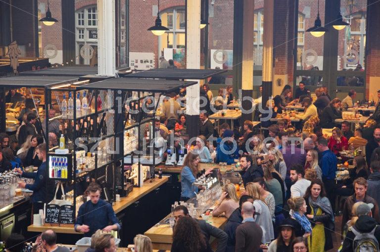 Bar at the Foodhallen - Adam Szuly Photography