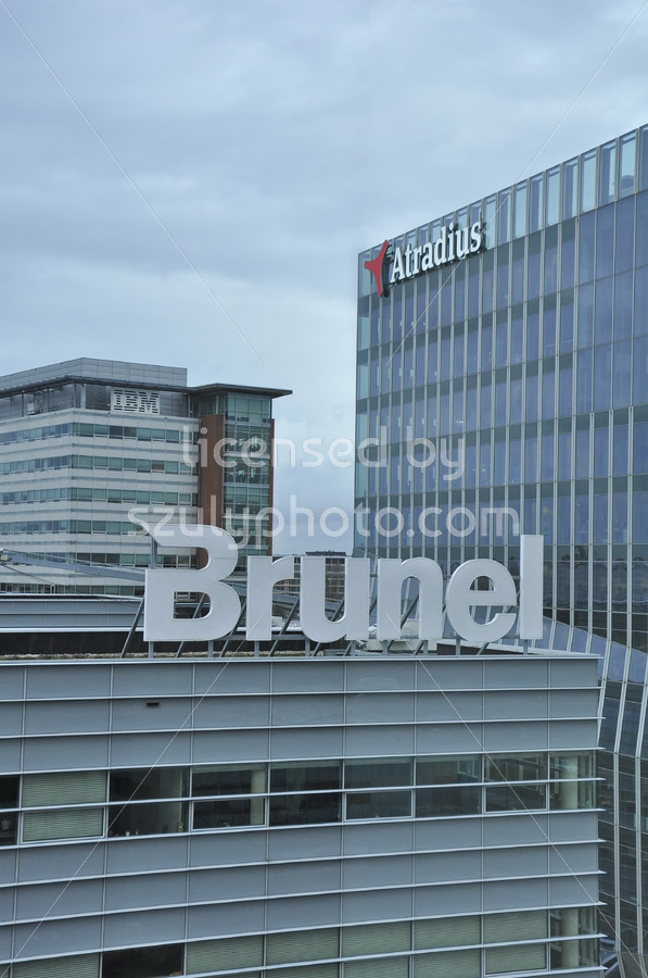 Brunel and Atradius Buildings - Adam Szuly Photography