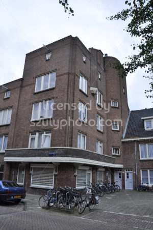 Diamond Street Amsterdam School building - Adam Szuly Photography