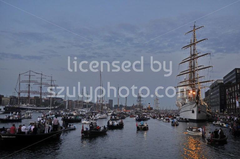 Evening view of the Ijhaven port of Amsterdam - Adam Szuly Photography