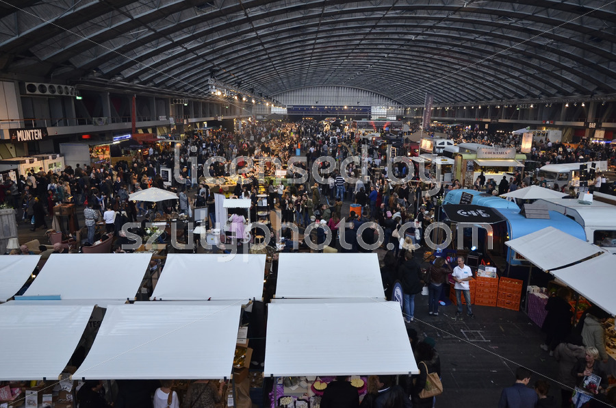 Foodfestival from above - Adam Szuly Photography