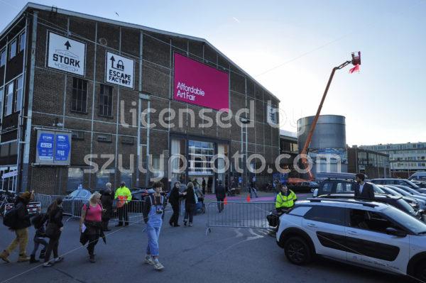 Front Entrance of the art fair - Adam Szuly Photography