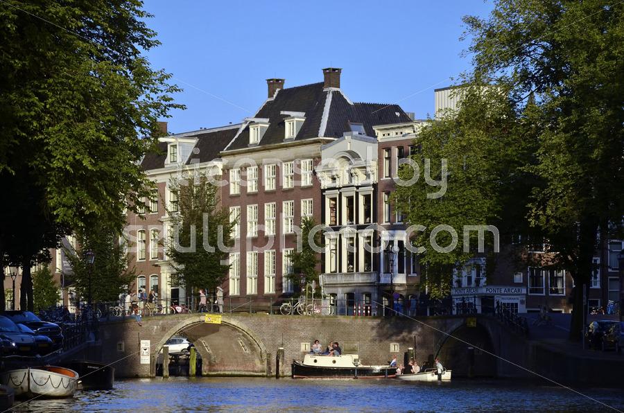 Herengracht summer afternoon in Amsterdam - Adam Szuly Photography
