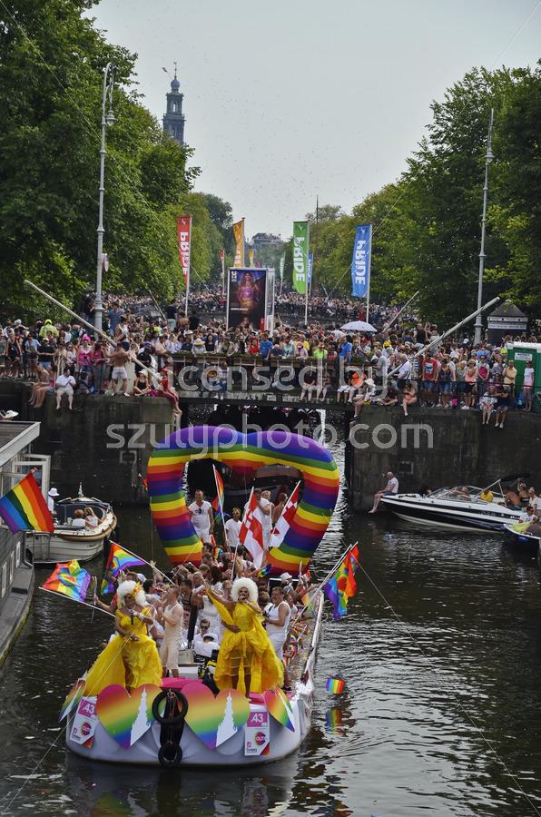 Landelijk Netwerk Biseksualiteit- Boat Parade 2018 - Adam Szuly Photography