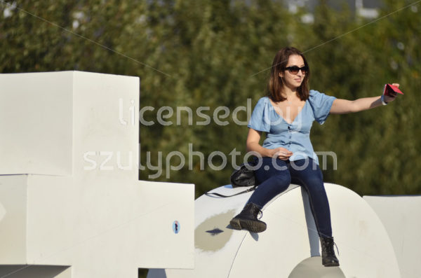 On the top of the Iamsterdam symbol - Adam Szuly Photography