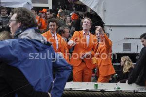 Orange suit boys on King's Day - Adam Szuly Photography