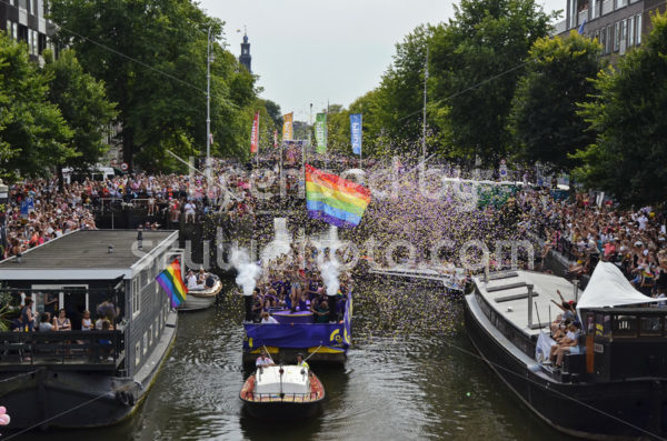 PWC Boat – Pride Amsterdam Boat Parade - Adam Szuly Photography