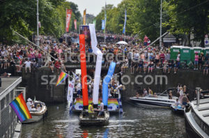Party Boat on the Amsterdam Pride Parade 2018 - Adam Szuly Photography