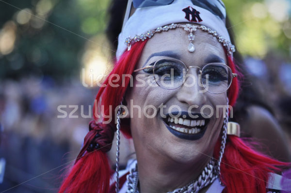 Portrait at the drag olympics - Adam Szuly Photography