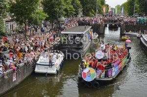 Pride Amsterdam – Google Boat - Adam Szuly Photography