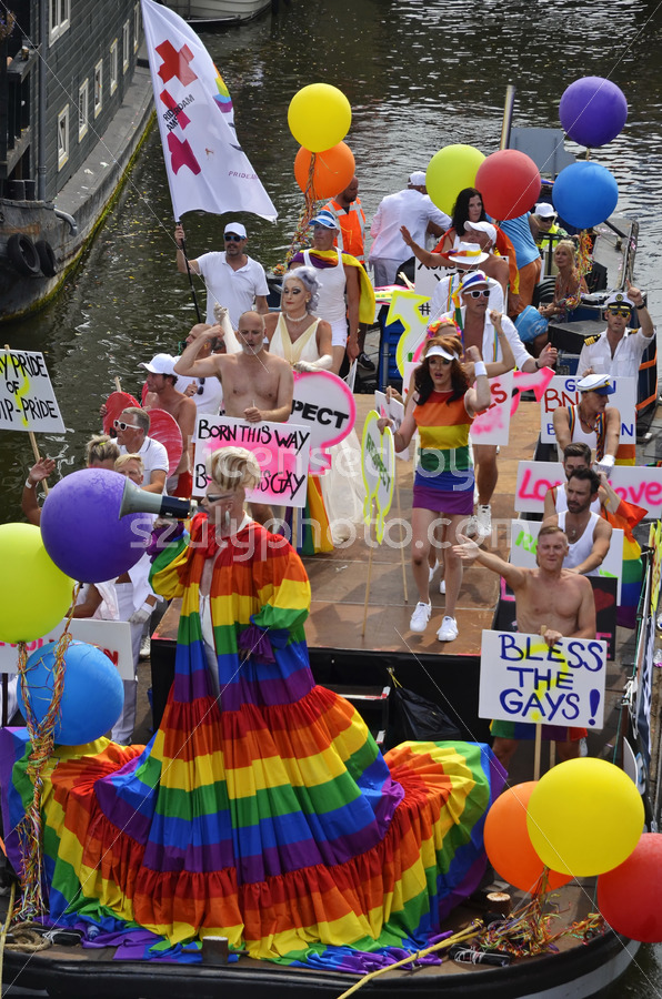 Pride Amsterdam – Upstream Boat - Adam Szuly Photography