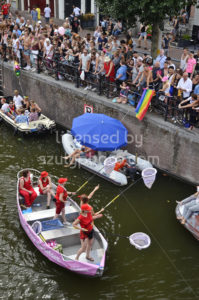Pride Amsterdam Boat Parade 2018 – AIDS Foundation Boat - Adam Szuly Photography