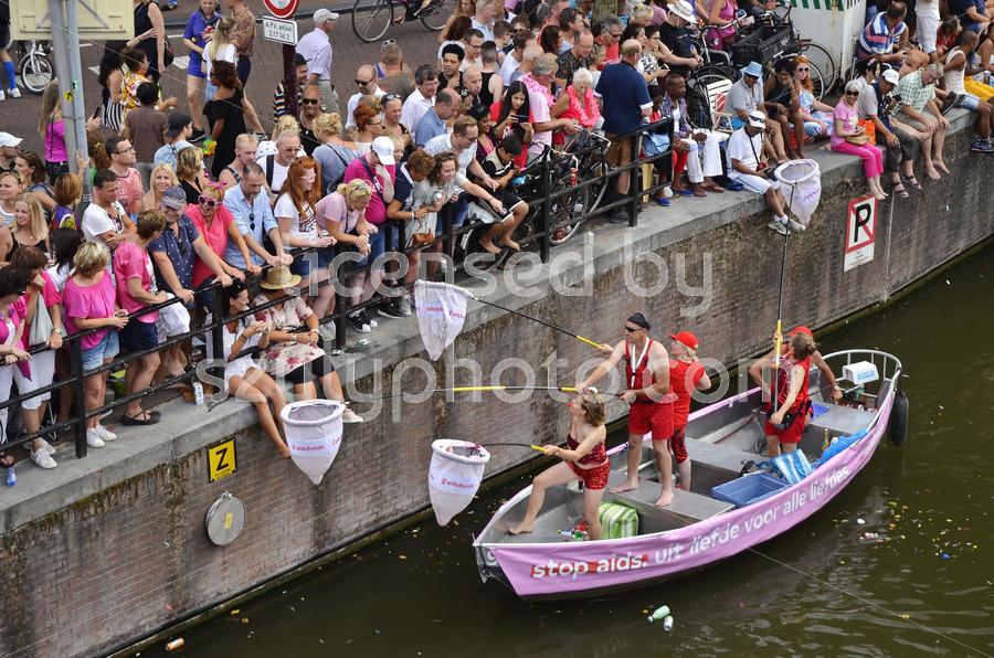 Pride Amsterdam Boat Parade 2018 – Aids foundation - Adam Szuly Photography