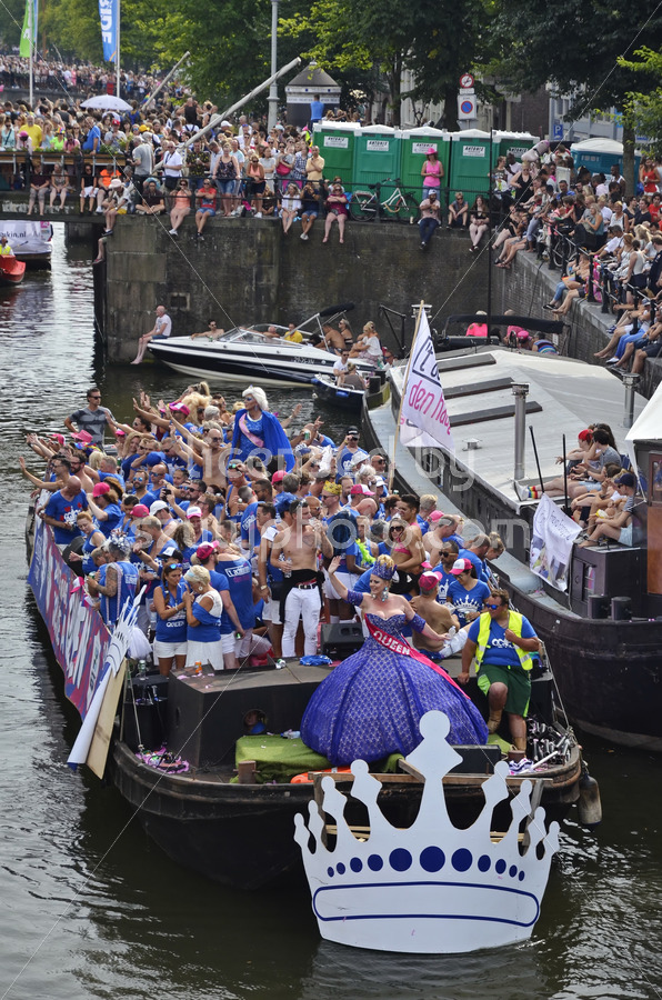 Pride Amsterdam Boat Parade 2018 – Cafe 't Achterom - Adam Szuly Photography