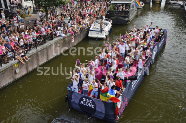 Pride Amsterdam Boat Parade 2018 – Eurovision boat - Adam Szuly Photography