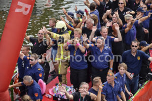Pride Amsterdam Boat Parade 2018 – Firefighters - Adam Szuly Photography