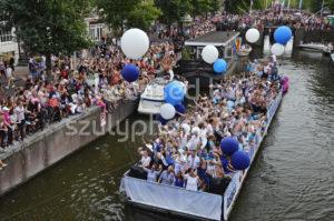Pride Amsterdam Boat Parade 2018 – FunX Boat - Adam Szuly Photography
