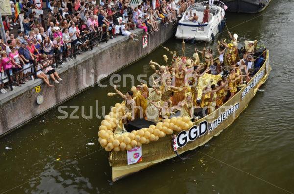 Pride Amsterdam Boat Parade 2018 – GGD Soa boat - Adam Szuly Photography