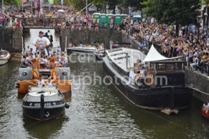 Pride Amsterdam Boat Parade 2018 – Leaseplan boat - Adam Szuly Photography