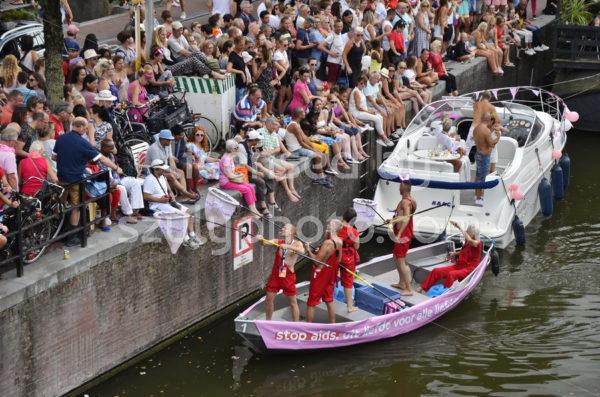 Pride Amsterdam Boat Parade – AIDS Donation Boat - Adam Szuly Photography
