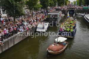 Pride Amsterdam Boat Parade – Deloitte Boat - Adam Szuly Photography