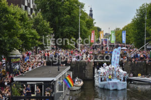 Pride Amsterdam Parade – Dolly Bellefleur Boat - Adam Szuly Photography