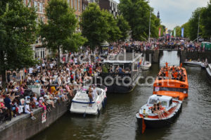 Pride Amsterdam Parade – Netflix Boat - Adam Szuly Photography