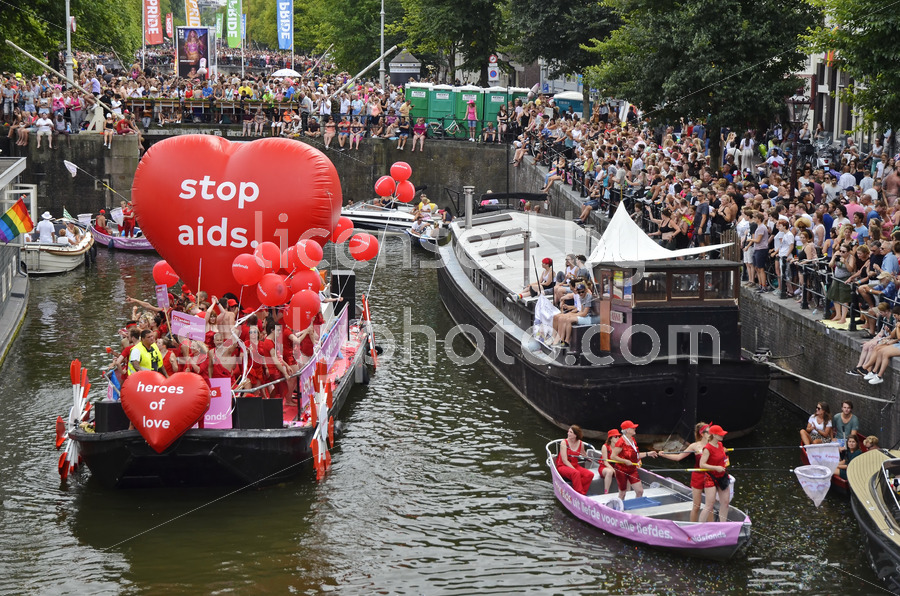 Pride Boat Parade 2018 – AIDS Foundation - Adam Szuly Photography
