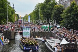 Pride Boat Parade – Police Boat - Adam Szuly Photography