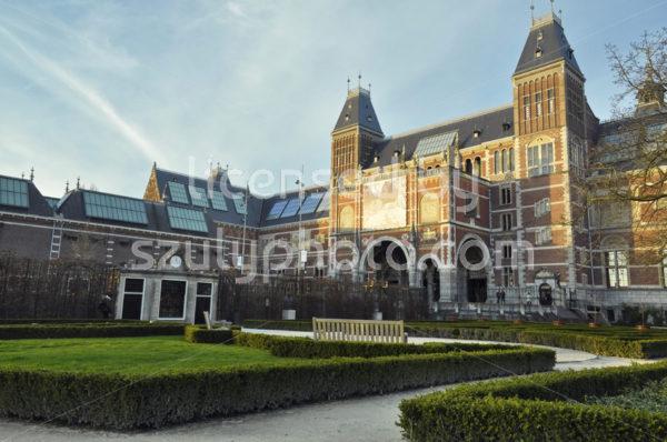 Rijksmuseum and the garden - Adam Szuly Photography