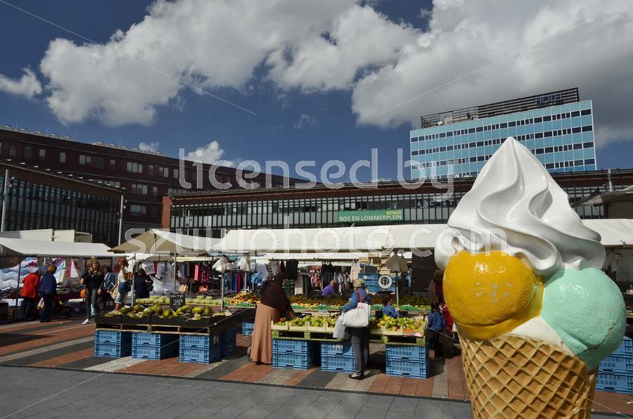 Saturday Bos en Lommer Market - Adam Szuly Photography