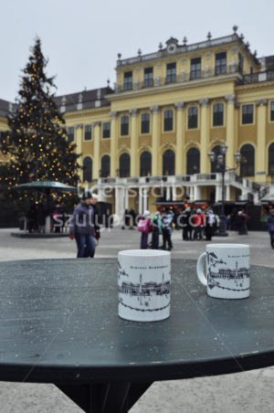 Schonbrunn Christmas mugs - Adam Szuly Photography