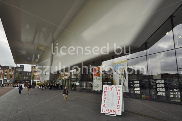 Stedelijk Museum entrance - Adam Szuly Photography